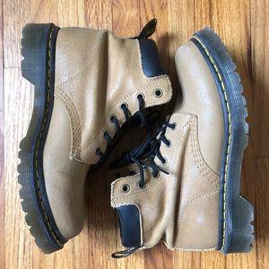 Dr. Martens | Tan Suede Hiker Boots | Size 7